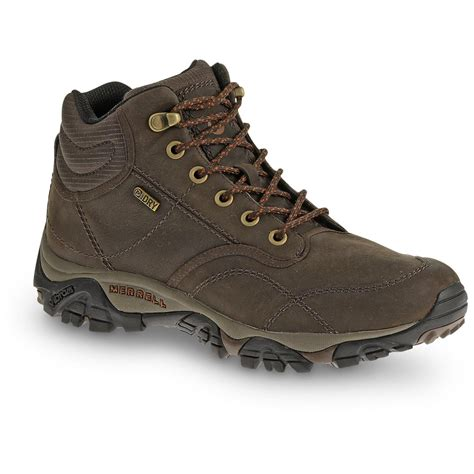 merrell hiking boots merrell s rover mid waterproof boots 617446 hiking