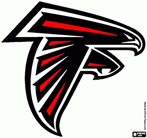 atlanta falcons colors falcons helmet logo