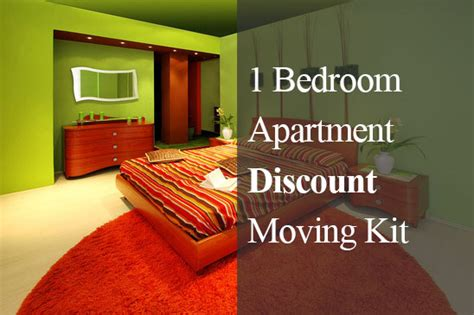 moving 1 bedroom apartment cost 1 bedroom apartment discounted moving kit