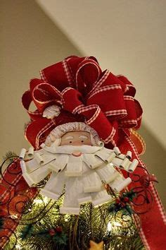 how to make bows for top of christmas tree tree topper on tree toppers tree toppers and a bow