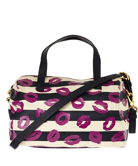 Marc Strike Bowling Bag by Marc By Marc Navy Eazy Print Bowling Bag In