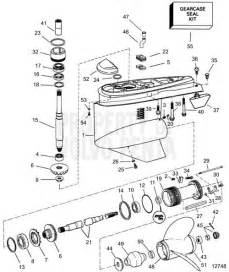 Volvo Penta Duo Prop Outdrive Diagram Volvo Penta Exploded View Schematic Lower Gear Unit Sx