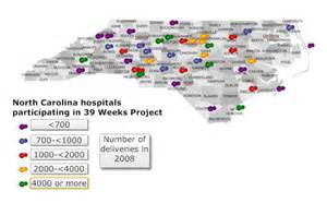 nc hospitals participating in 39 weeks initiative pqcnc