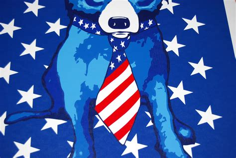 rodrigue blue spangled blue ftigallery