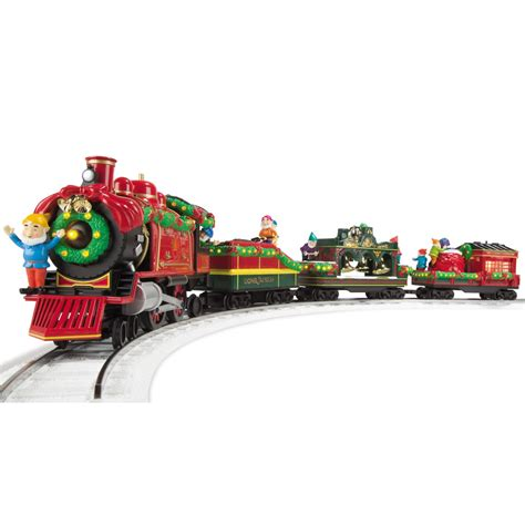 the classic lionel holiday train set hammacher schlemmer
