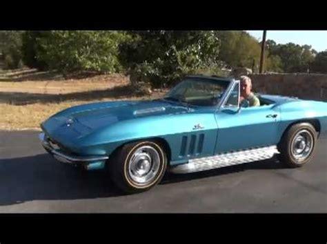automobile air conditioning service 1966 chevrolet corvette free book repair manuals 1966 corvette 427 425hp youtube