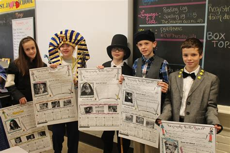 biography book 4th grade 4th graders share biography book reports st james