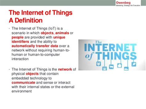 internet definition is 2014 the year of the internet of things