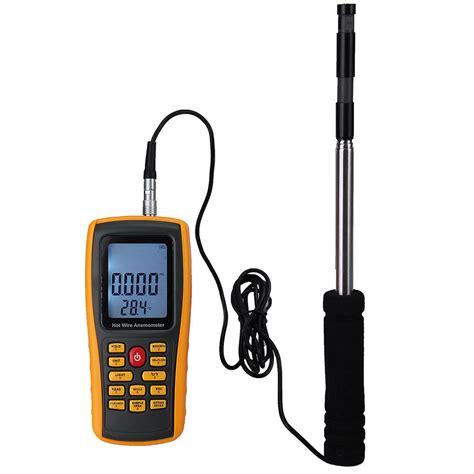 Digital Anemometer Sanfix Gm8903 digital thermal anemometer meter tester air wind speed