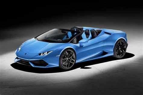 Watch   Lamborghini Huracan LP 610 4 Spyder: 201mph
