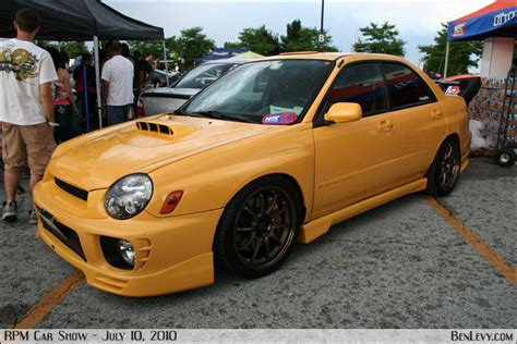 yellow subaru wrx benlevy