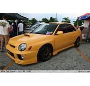 Yellow Subaru WRX  BenLevycom