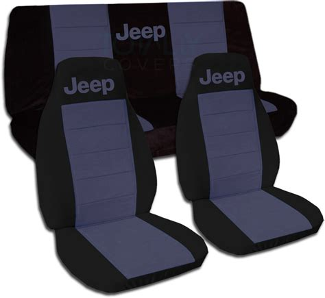 Seat Covers For Jeeps Jeep Wrangler Yj Tj Jk 1987 2017 Two Tone Seat Covers W