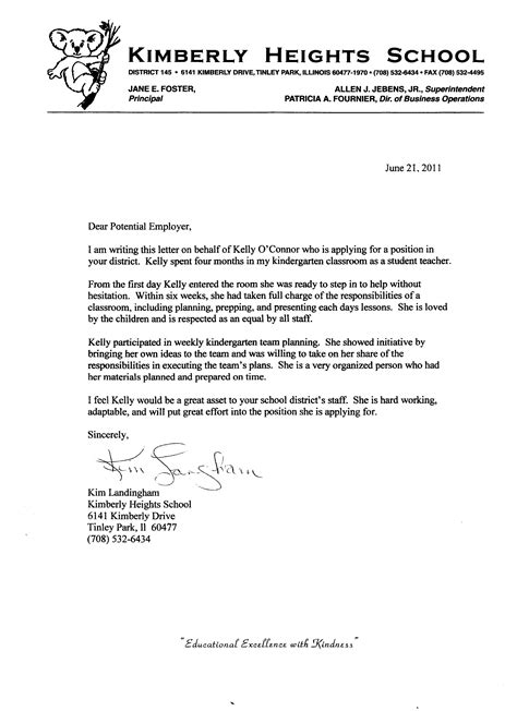 Reference Letter School writing a letter of recommendation for vet school