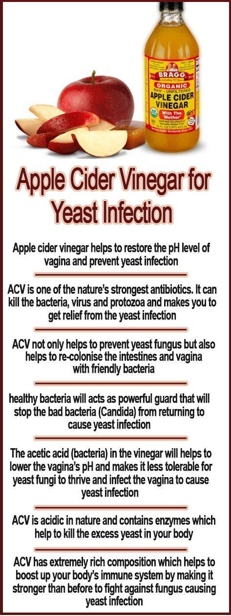 apple cider vinegar for yeast infection apple cider