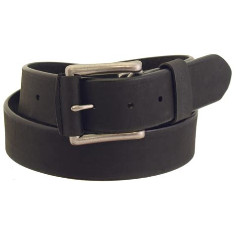 rugged belt wrangler rugged wear s leather belt 666214 belts suspenders at sportsman s guide