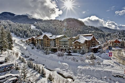 Four Bedroom Floor Plans by A Ski In Ski Out Whistler Hotel Evolution In Creekside