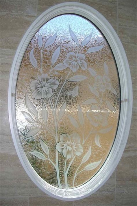 frosted glass patterns for bathrooms hibiscus bathroom windows frosted glass designs privacy