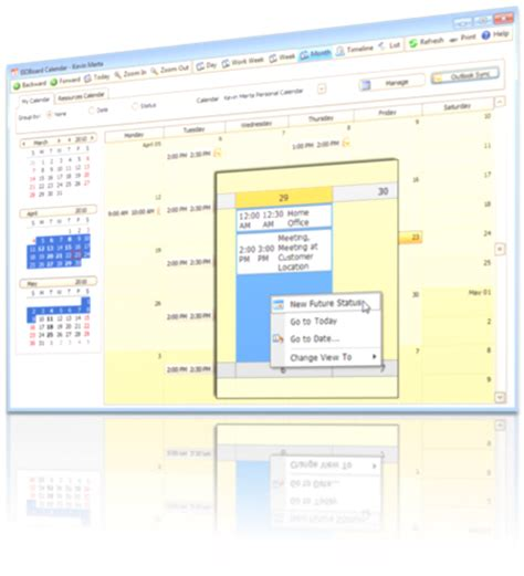 Calendar Sync Update Electronic In Out Board Savance Eioboard