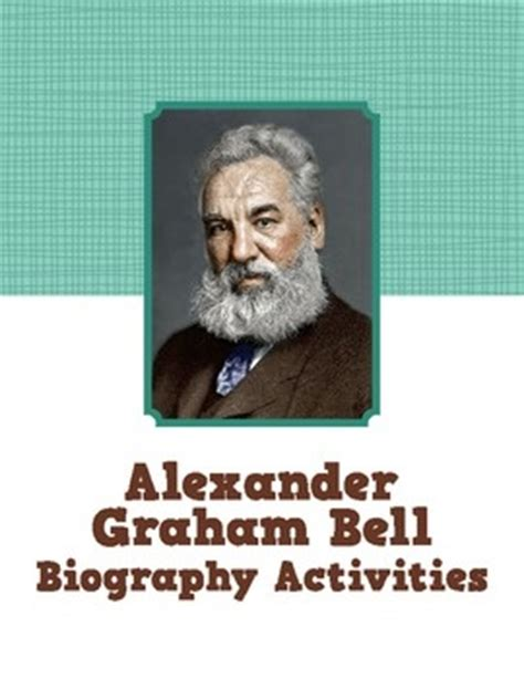 alexander graham bell biography en anglais 204 best images about biography project on pinterest