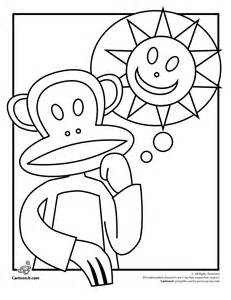 frank coloring pages printable paul frank printable coloring pages julius the monkey paul