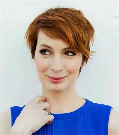 what is felicia days natural hair color 20 pictures of pixie haircuts pixie cut 2015