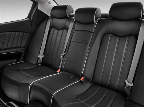 maserati levante back seat image 2015 maserati quattroporte 4 door sedan