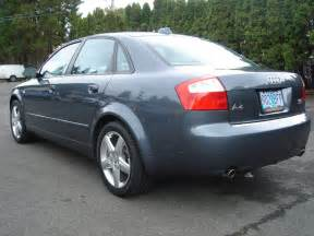 2004 Audi A4 Horsepower Haudi 2004 Audi A4 Specs Photos Modification Info At