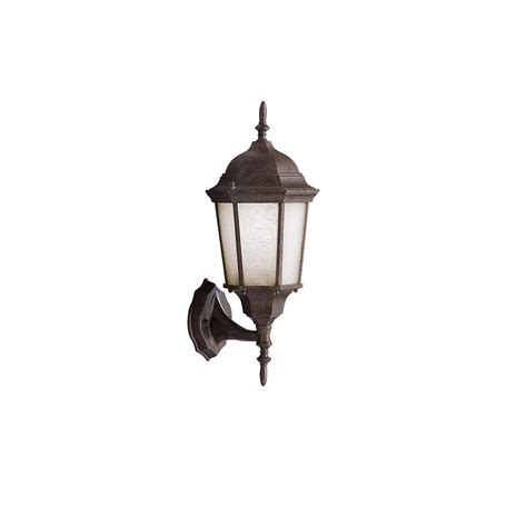 kichler outdoor lighting fixtures kichler lighting 9653bk outdoor wall lighting
