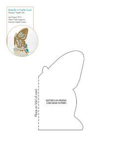 free butterfly card template free witch boots pattern template downloadable patterns