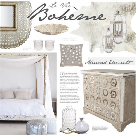 White Silk Rug by Boho Chic Bedroom Polyvore