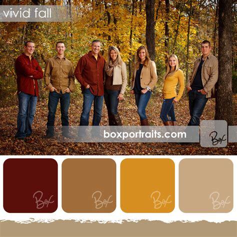 family photo color ideas vivid fall family portrait color schemes ideas