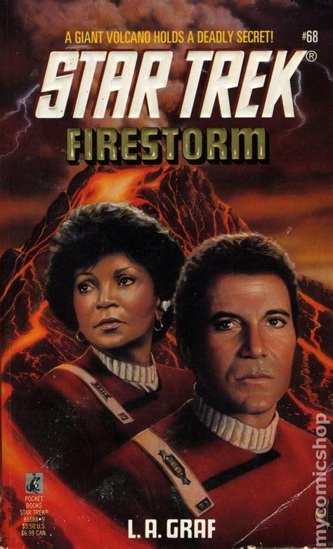 Firestorm A Novel trek firestorm pb 1994 pocket novel comic books
