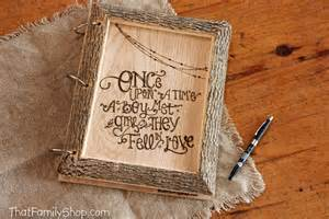 guest book picture thatfamilyshop rustic guest book