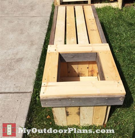 wooden planter plans diy planter bench myoutdoorplans free woodworking