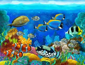 Finding Nemo Wall Mural underwater fish wallpaper wallpapersafari