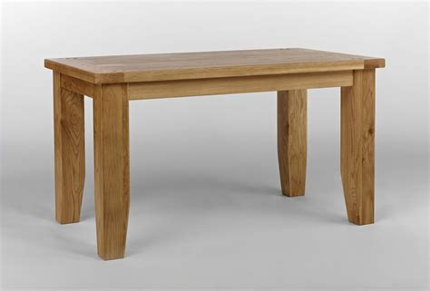 chiltern oak fixed top dining table oak furniture solutions