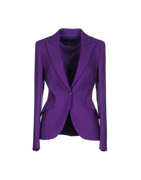 Kalung Fashion Nk 166 09 lyst escada blazer in purple