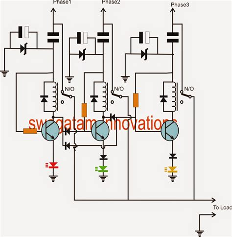 3 phase capacitor connection single phase voltage from three phase voltage source