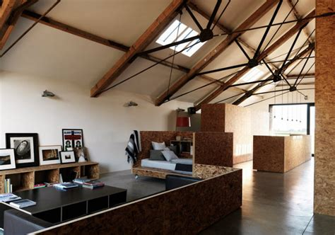 Structures And Interiors by The Adapted Ochre Barn Is A Modernist Open Floor Plan