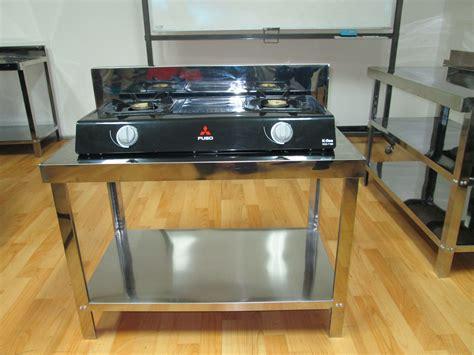 Meja Untuk Kompor jual meja kompor gas stainless meja stainless