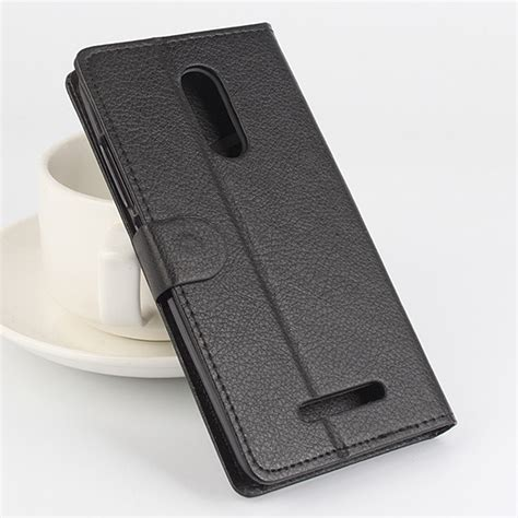 Flip Cover Leather Standing Back Cover Casing Xiaomi Redmi Note 4 protective cover flip stand leather for xiaomi