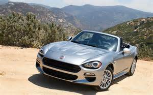 Spider Fiat 124 2017 Fiat 124 Spider Picture Gallery Photo 1 43 The