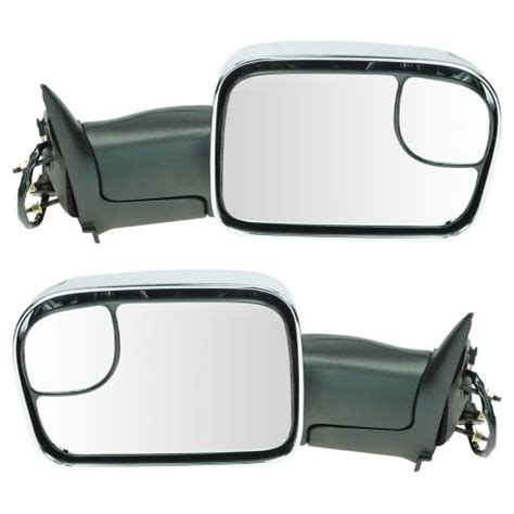 1996 Dodge Ram 1500 Truck Side View Mirror   1996 Dodge