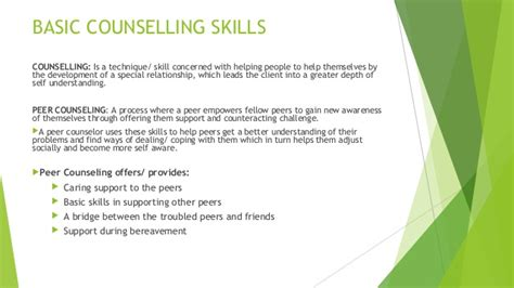 guidance counselor skills bcc and basic counselling skills