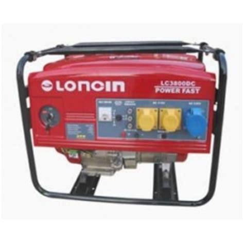 loncin lc3800dc silent generator