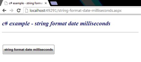 format date php from string c exle string format date milliseconds
