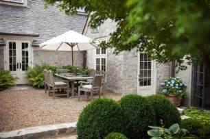 new pea gravel patio project backyard inspiration the
