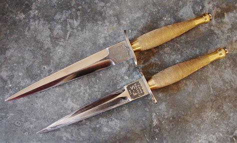 knife fighting knives custom f s knives the fairbairn sykes fighting knives