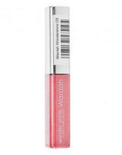 wardah wondershine lip gloss product cosmetics